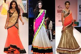Drape A Sari Half Saree Draping Style Tradition And Global Appeal Utsavpedia