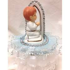 First Holy Communion Decorations Holy Communion Boy Cake Topper Decoration 2 Ct