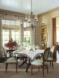 atlanta 60 round dining chandelier room traditional with patterned