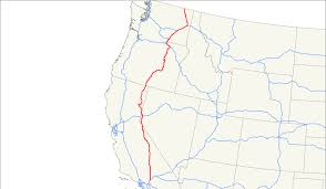 map of highway 395 oregon u s route 395
