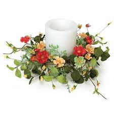 flower candle rings cheap bulk artificial flower with candle rings find bulk