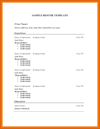 resume templates for wordpad 6 7 wordpad resume template genericresume