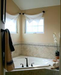 Bathroom Window Curtain Ideas Decorating Small Bathroom With Window Small Bathroom With Jalousie Windows