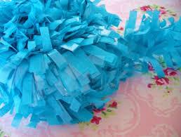 festooning tissue garland