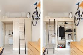 micro apartment design a super efficient 140 square foot urban apartment