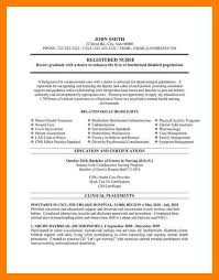 Resume Templates For Registered Nurses 7 Nurse Resume Template Mla Cover Page