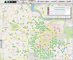 Map Of Ann Arbor Damn Arbor November 2012