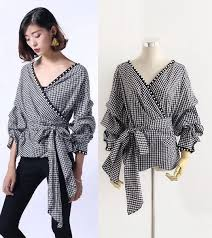 trendy blouses snj trendy two way wrap blouse boutique malaysia