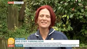 hospital parking nurse quits nhs after getting 80 fine while
