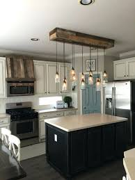 Wood Island Light Island Kitchen Lighting Jar Light And Oven Pallet