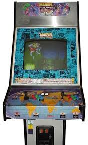 Super Cabinet Marvel Super Heroes Vs Street Fighter Videogame By Capcom