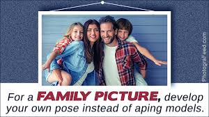 cool and innovative ideas for taking great family pictures