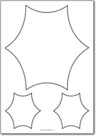 6 pointed concave star shape free printables free printable