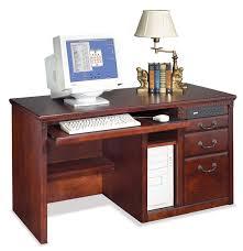 Pedestal Computer Desk Huntington Club Single Pedestal Computer Desk