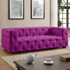 madison home tufted sofa madison home usa tufted large sofa walmart com
