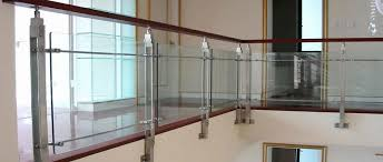 Glass Banister Kits Stair Gl Panels Straight Maple Stair With Gl Panel Railing