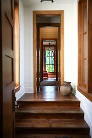 flush baseboard seattle flush baseboard hall rustic with steps removable wallpaper