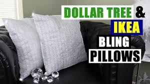 how to store pillows diy dollar tree ikea bling pillows dollar store ikea diy glam