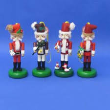 pack of 4 authentic steinbach twelve days of christmas collectible