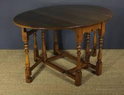 oval drop leaf table oak oval drop leaf gate leg table antiques atlas