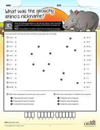 worksheets percents worksheets math riddles 4th u20137th ccss