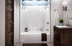 Shower And Tub Combo For Small Bathrooms Bath Shower Combo Ideas Corner Combo Tub And Shower Ideas Corner