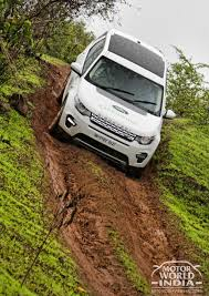 land rover discovery off road land rover off road experience drive with the discovery