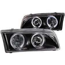 mirage mitsubishi 1999 anzo usa mitsubishi mirage 97 02 4dr crystal headlights black w