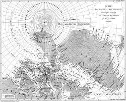 Map From File Map From Journeys And Adventures Of Captain Hatteras By Jules