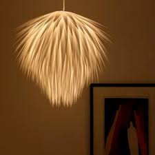 Paper Pendant Lamps Interesting Lamp Shades Made Of Recycled Materials Vessels