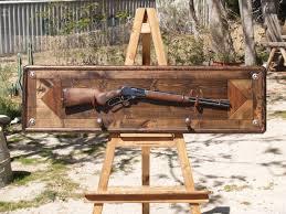 Pine Gun Cabinet Custom Gun Rack By Art Of Wood Custommade Com