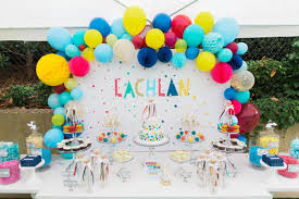 20 creative first birthday party themes at home with