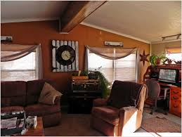 mobile home decorating shannon u0027s shabby chic double wide makeover regarding living room