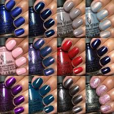 my nail polish obsession china glaze rebel collection fall 2016
