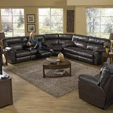 Sectional Sofas With Recliners And Cup Holders Power Extra Wide Reclining Console Loveseat With Storage And Cup