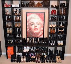 Shoe Shelves For Wall Furniture Archaic Picture Of Walk In Closet Furniture Design And