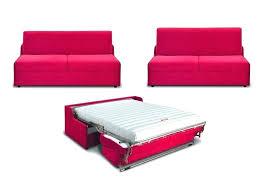 largeur canapé canape convertible 120 cm 2 place canapac places express en tissu