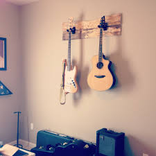guitars terek s room boys rooms pinterest guitars room and guitars hanging on the wall to save space possible on a piece of metal or wood