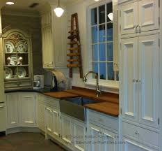 decor using stainless farmhouse sink for dazzling kitchen