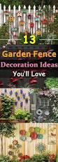 Backyard Fence Decorating Ideas Backyard Fence Decorating Ideas Unac Co