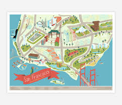 Map Usa San Francisco by Forest And Waves San Francisco At Buyolympia Com