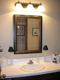 bathroom design fabulous wood framed bathroom mirrors large