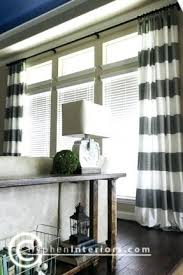 Front Windows Decorating Large Window Curtains Teawing Co