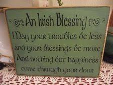 irish decor for home irish home décor plaques signs ebay