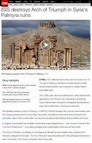 Reddit Assassins Creed Black Flag On October 6 2015 The F Cking Isis Destroys Arch Spirit Wq De