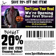 spirit store halloween costumes spirit halloween in store coupon gordmans coupon code shay