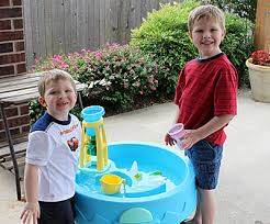 step2 waterwheel play table danz family step 2 waterwheel play table