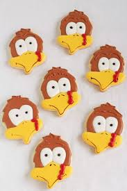 167 best autumn and thanksgiving cookies images on pinterest