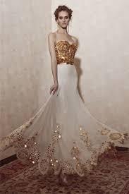 gold wedding dress 14 gorgeous white and gold wedding dress getfashionideas