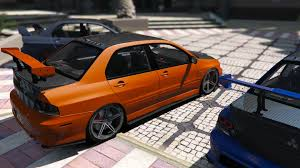 mitsubishi lancer modified mitsubishi lancer evolution ix mr